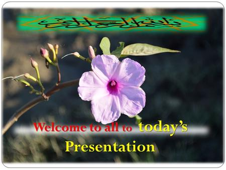 Welcome to all to today's Presentation. Assistant Head teacher English Grammar Class IX-X Time:- 40minutes Introduction.