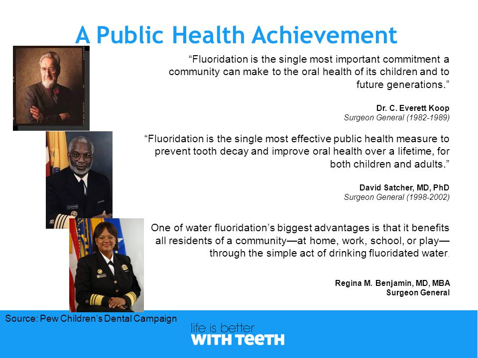 Fluoridation in New York State  Fluoridation efforts started in 1942  Newburgh initiated fluoridation in 1945  Focus on research and evaluation  Approximately 12.5 million residents or approximately 72% on public water supplies receives fluoridated water