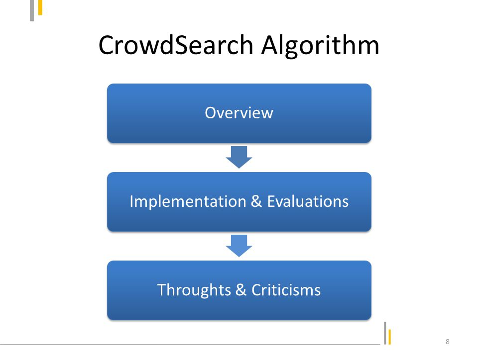 CrowdSearch: Overview 9