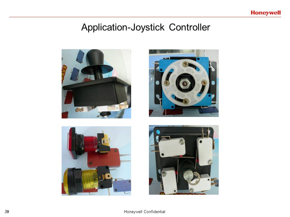 40Honeywell Confidential ZD series ZX series ZM series ZW series Application-Automobile