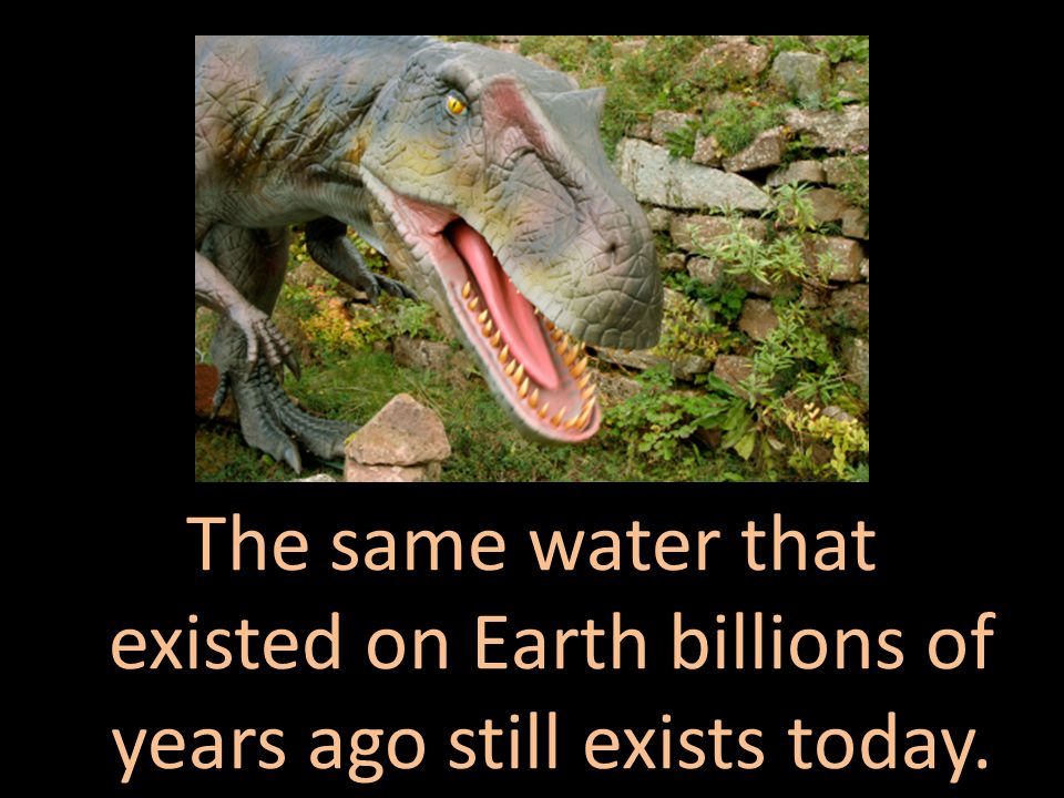 It covers most of the planet, but just 3% is freshwater.