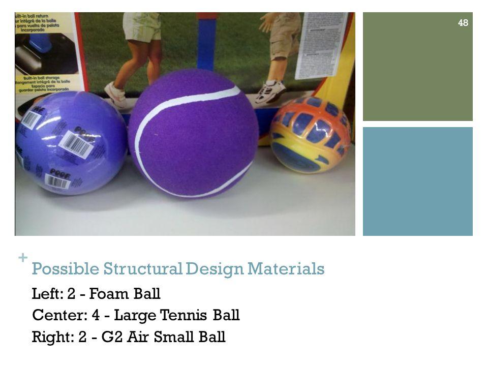 + Ball Materials (continued) Left: 4 - Starter Soccer Ball Right: 4 - Mitre Cup Final Soccer Ball 49