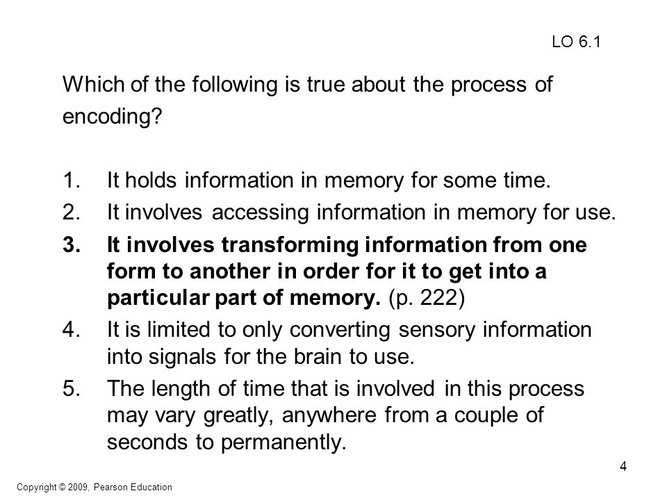5 Using the partial report technique, Sperling discovered that this part of memory has a duration of only half a second.