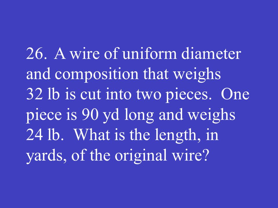 Answer: 120 (yd)