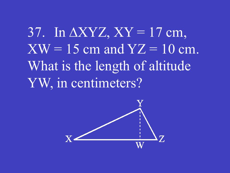 Answer: 8 (cm)