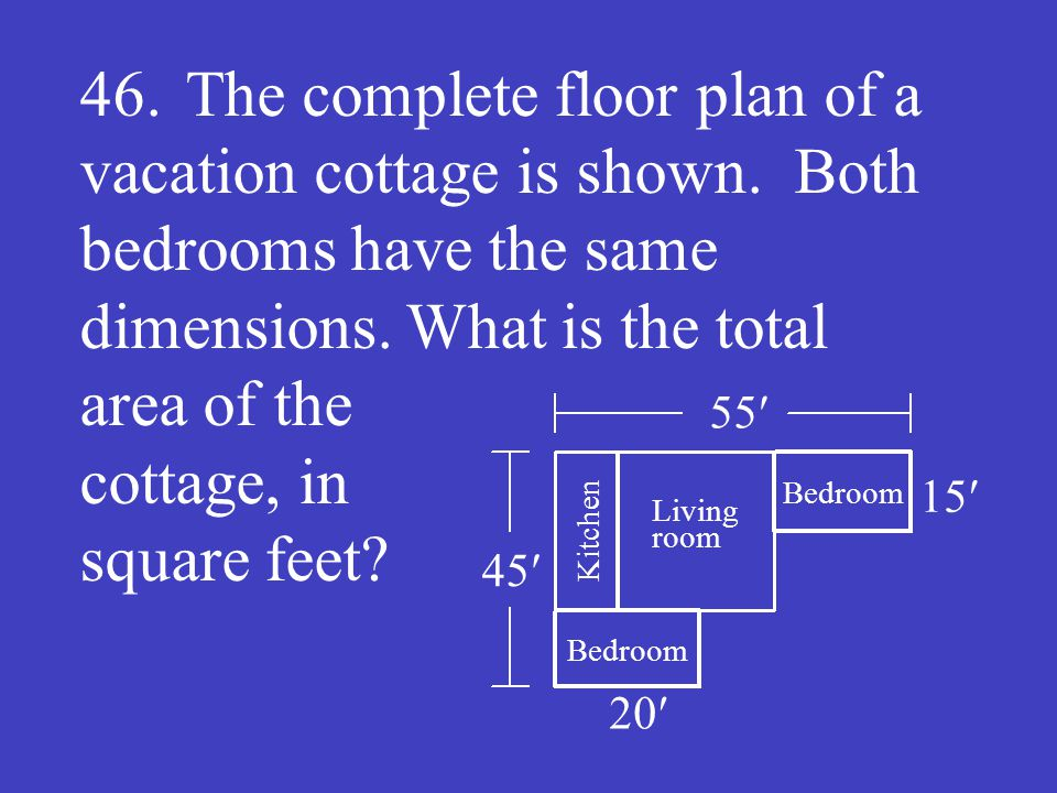 Answer: 1650 (ft 2 )