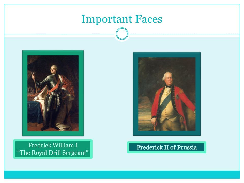 Important Faces Cont Peter III of Russia Maria Theresa Joseph II