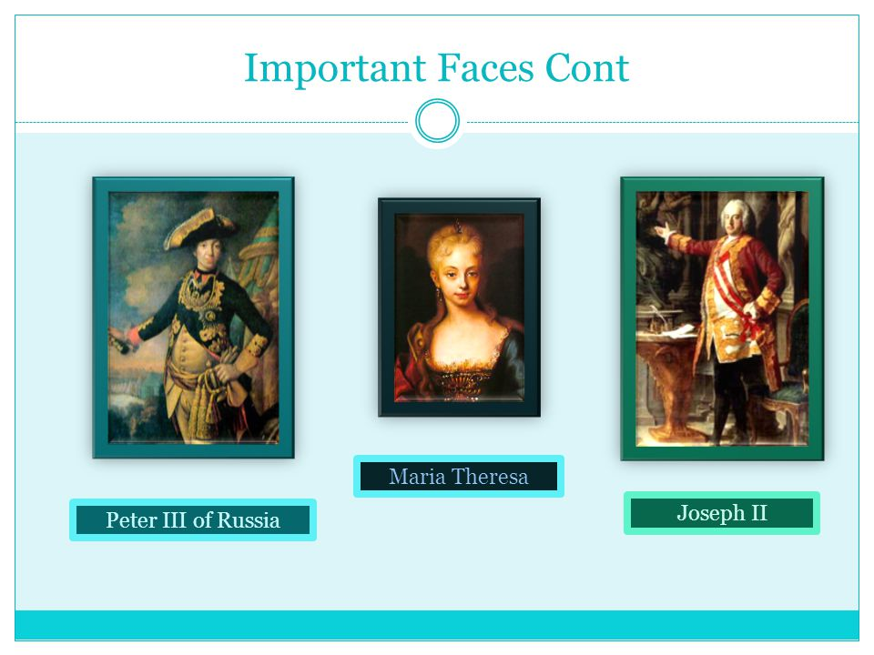 Important Faces Cont. Leopold II Of Austria