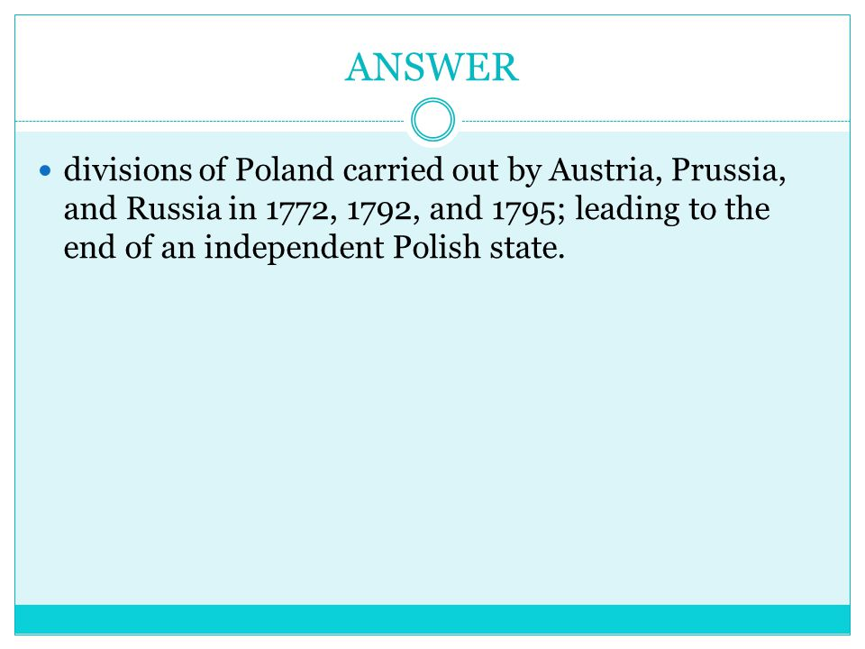 Question What was Catherine the Great Originally called?