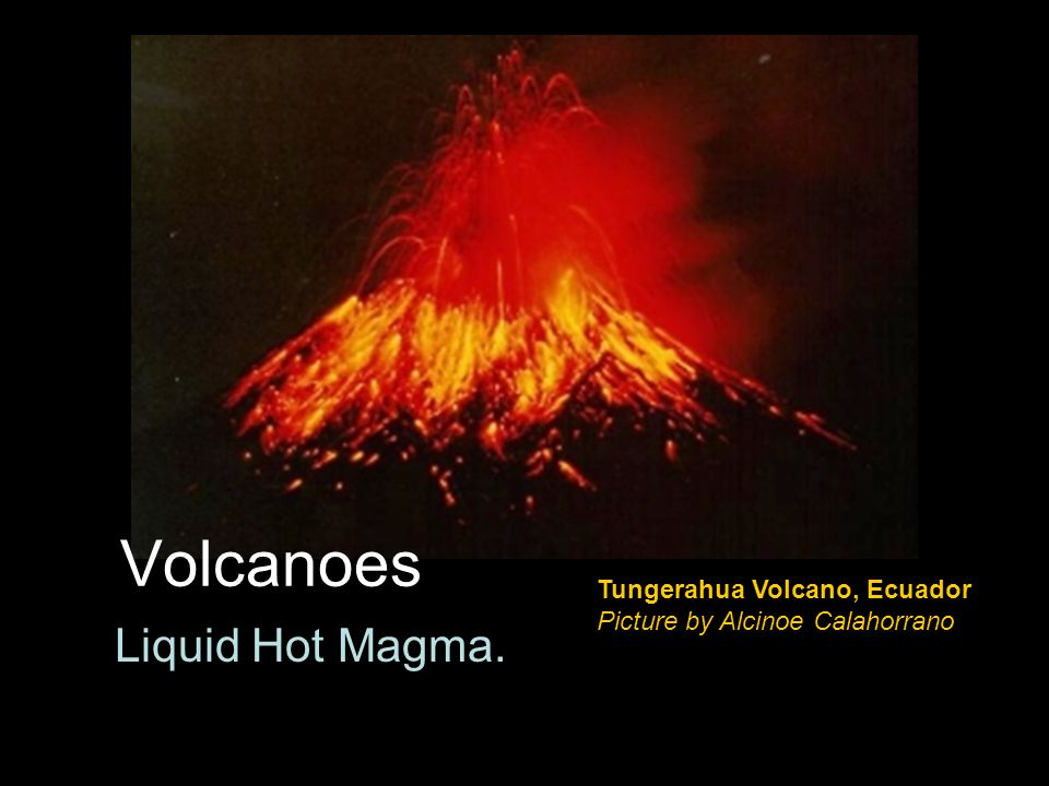 Volcano Stats Definition of Volcano –Mountain that forms when molten rock (magma) is forced to the Earth's surface Number of active volcanos = .