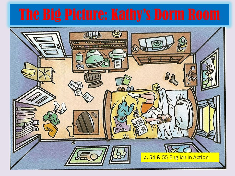 Label Kathy's Dorm Room p.
