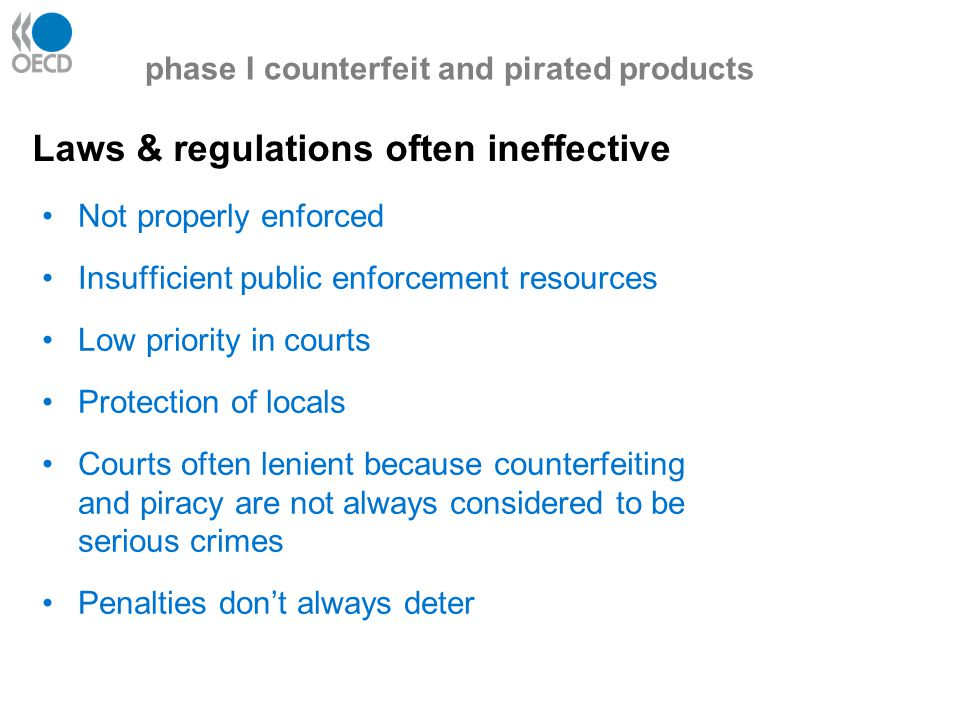 Why is organised crime interested in C&P.