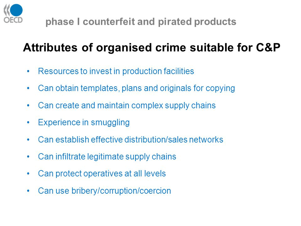Phase II covers digital piracy of all copyrighted materials.
