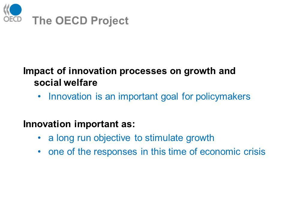 Innovation processes are complex and there is a need for trends, evidence, analyses and guidelines.