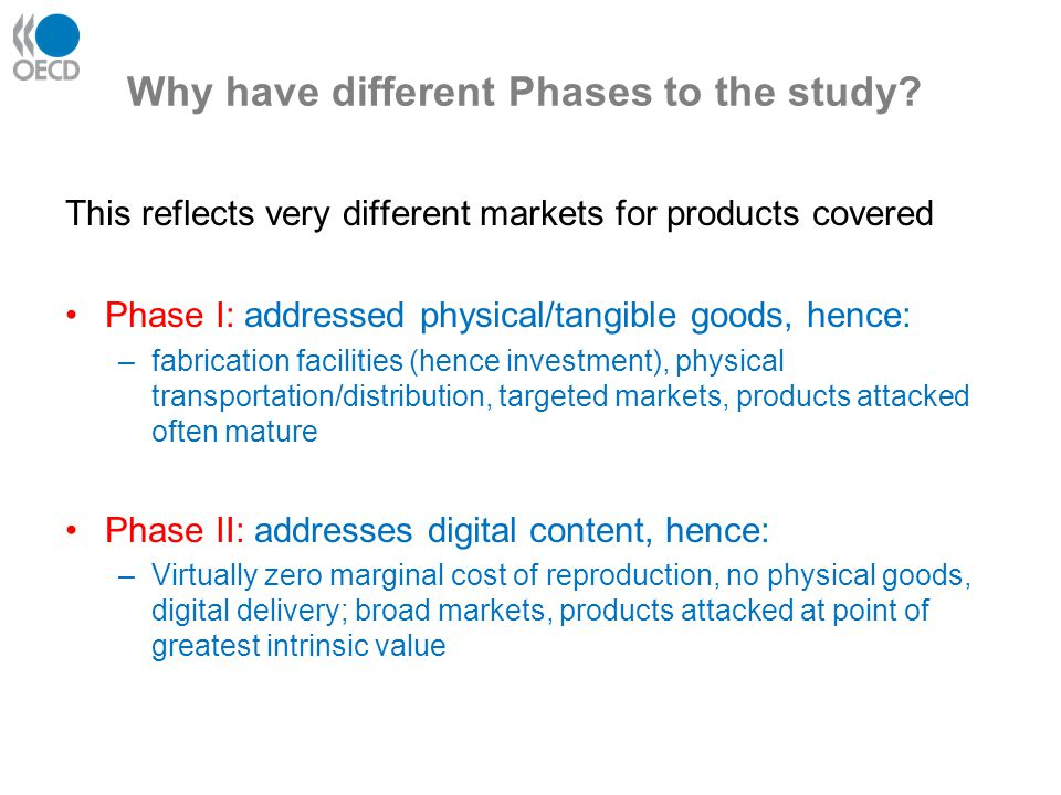 phase II digital piracy Special economic properties: Some pirated digital content appears to be offered to customers at almost zero price perhaps driven by non-monetary supply drivers Some customers appear to pay for (pirated or legal) digital content even though they could acquire pirated alternatives for free (demand) Important role of transaction costs for customers decisions Markets for pirated digital products