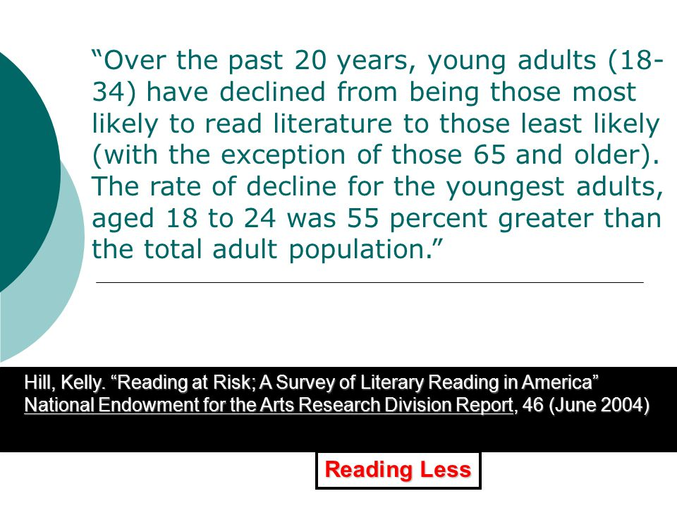 XXXXXXXXXXXXXXXXXXXXXXXXXXX Perceptions of Libraries By Age of U.S.