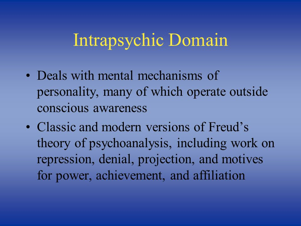 Dispositional Domain Deals with ways in which individuals differ from one another and, therefore, cuts across all other domains Focus on number and nature of fundamental dispositions