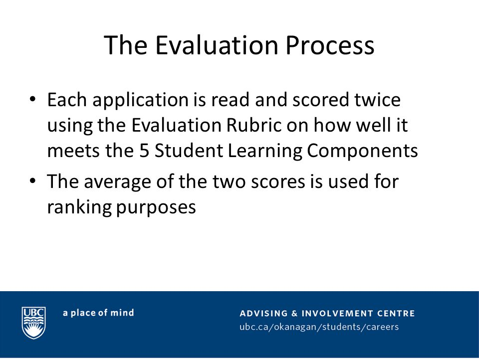 The Approval Process All of the rankings are compiled and funding decisions are made based on those rankings Applications that do not meet the 5 Student Learning Components may not receive funding