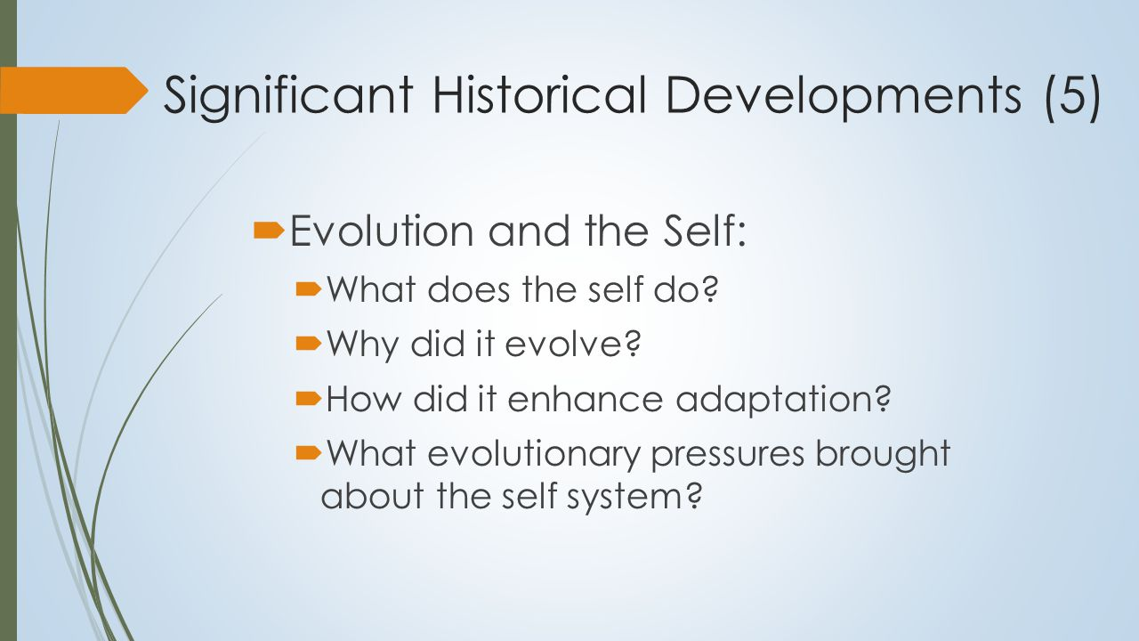 Contemporary Approaches to the Self 1.Self as knower: Experiential or ontological self 2.Self as known: Cognitive or known self (Self- knowledge) 3.Self as agent: Executive self: Self as a centre of self regulatory action (Self as doer or decision-maker) Leary and Tangney, (2012).