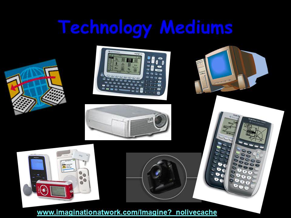 Technology Mediums www.imaginationatwork.com/Imagine?_nolivecache