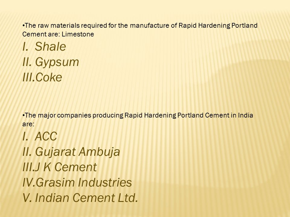  What is OPC Cement.