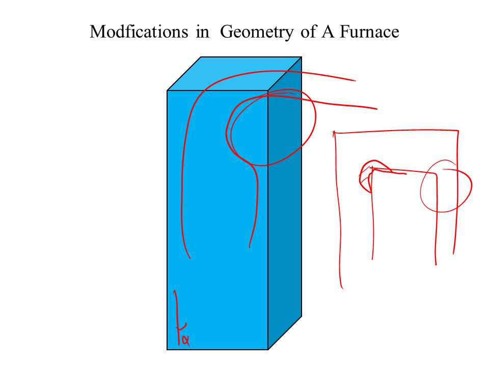 Modfications in Geometry of A Furnace