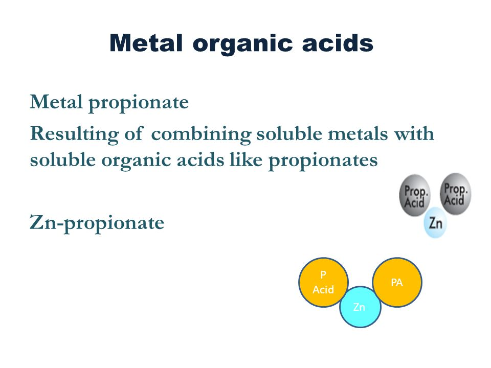 Organic minerals are costly compared to inorganic source 1.