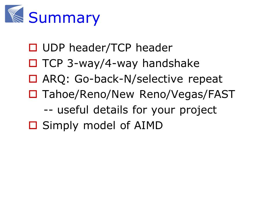 40 Why both TCP and UDP.