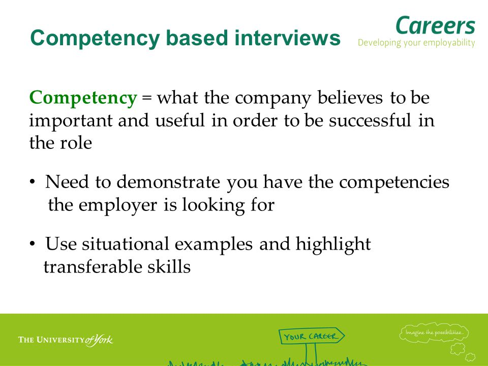 Common competencies Positive attitude Communication Flexibility Creativity Enterprising/ innovative Problem solving Team work Influencing Organisational Analytical Numeracy IT Commercial Awareness Motivation Committed to self- development