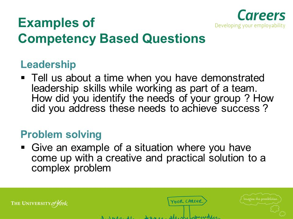 Tackling questions –think CAR Context Situation and tasks, what/where/when/with whom.