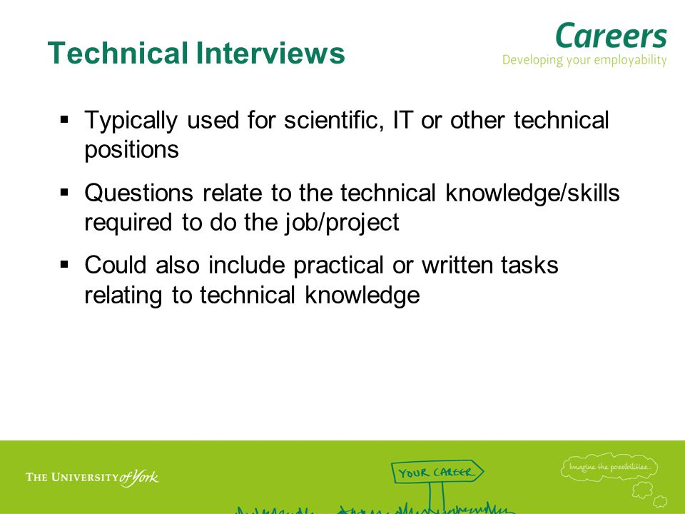 Case Study Interview  Common in some sectors, e.g.