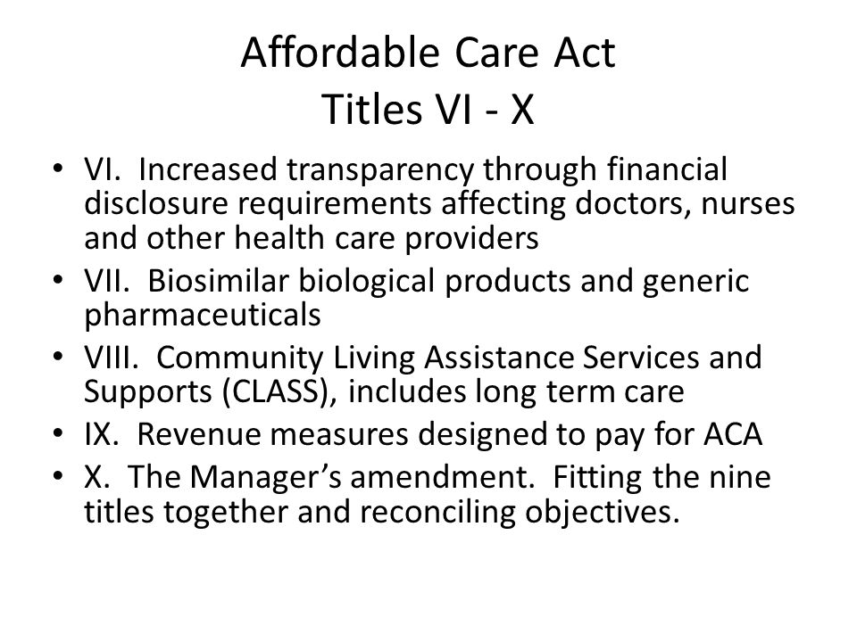 Obstacles in the path of the ACA From decision to implementation Would health care remain an objective after the 2008 election.