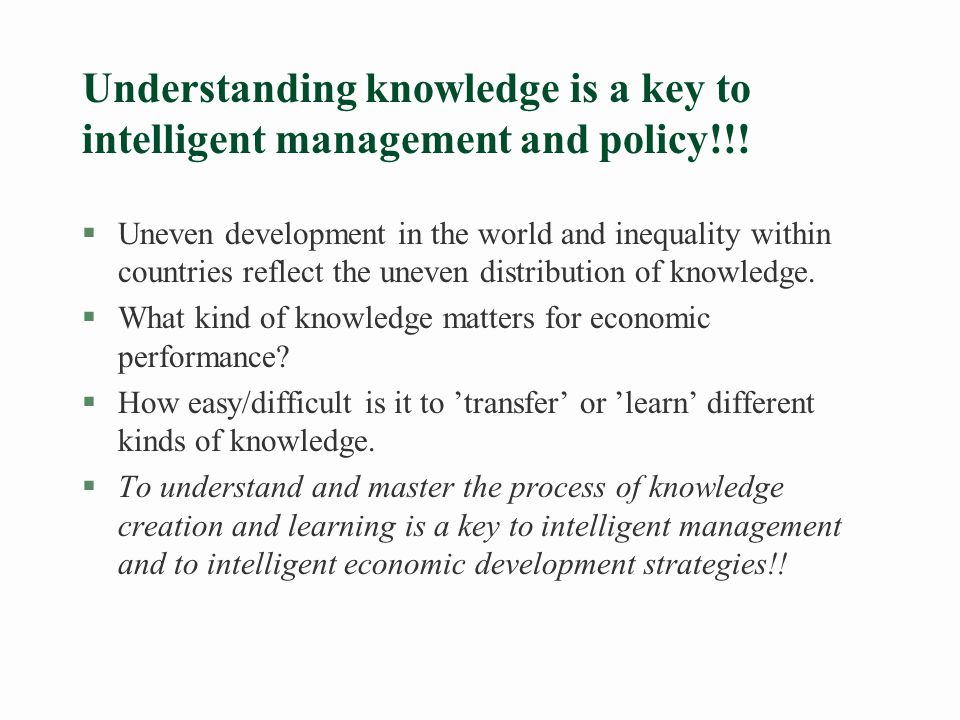 Is knowledge a public good.