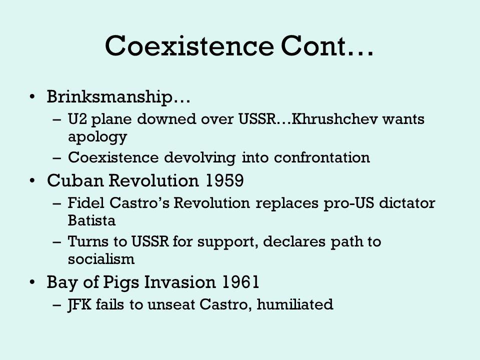 Coexistence??.