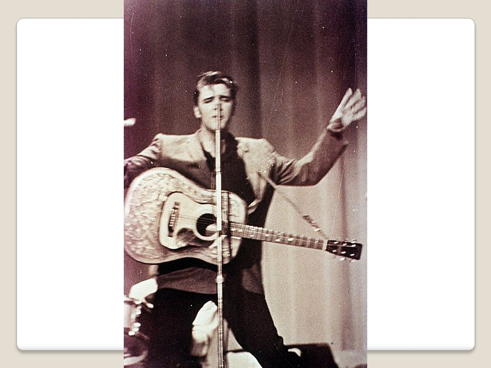 Elvis Presley & Rock n Roll In middle of conservative '50s burst a 21 yr old truck driver who took a popular, but largely Af-Am music style & made it white With tight pants, wailing voice, suggestive hips, & trademark snarl, Elvis Presley personified the spirit of rock n roll : teenage rebellion Critics called him lewd, but the more lewd he was, the more popular The King became w/ teens.