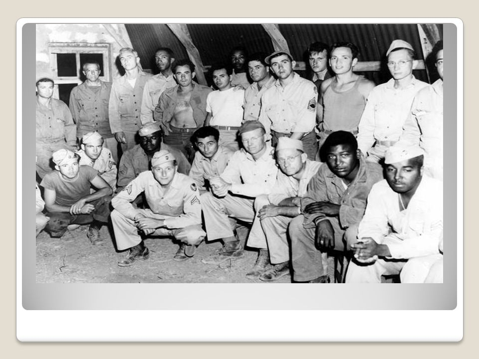 In '46, Truman created team to study c.r.