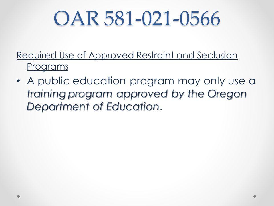 Amendments & New Rules OARs 581-021- 0550, -0553, -0556, - 0559, -0563, & - 0566, -0568, -0569, -0570.