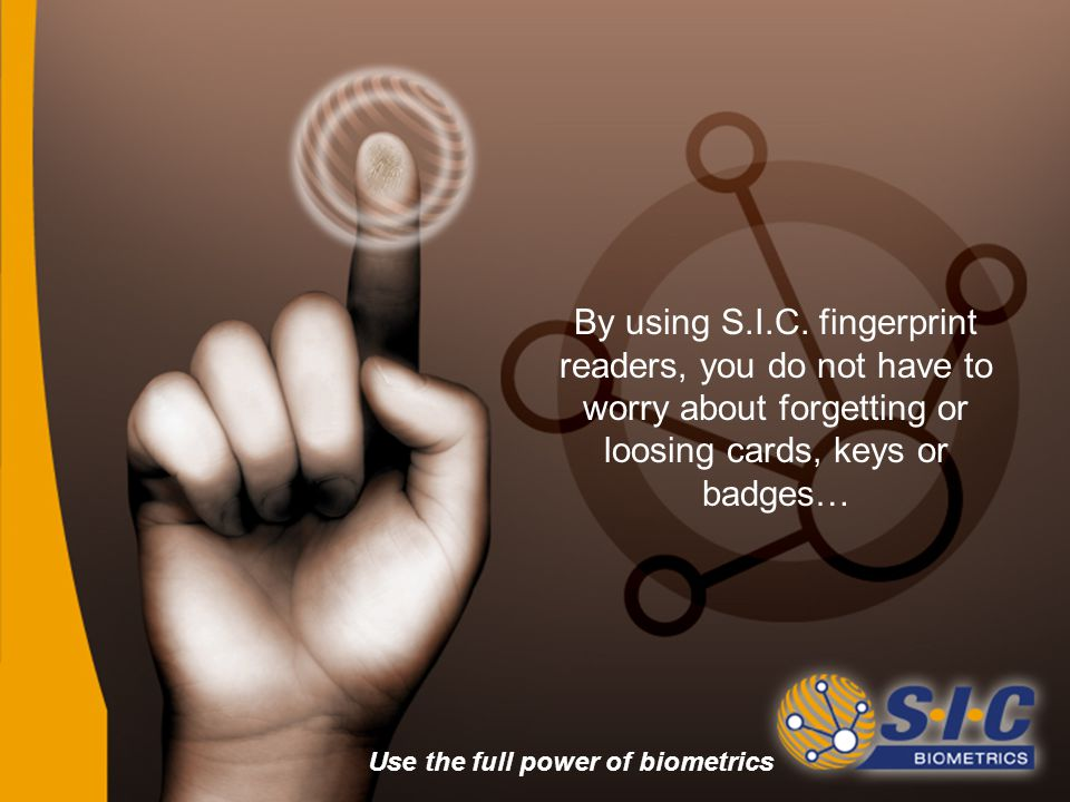 By using S.I.C.
