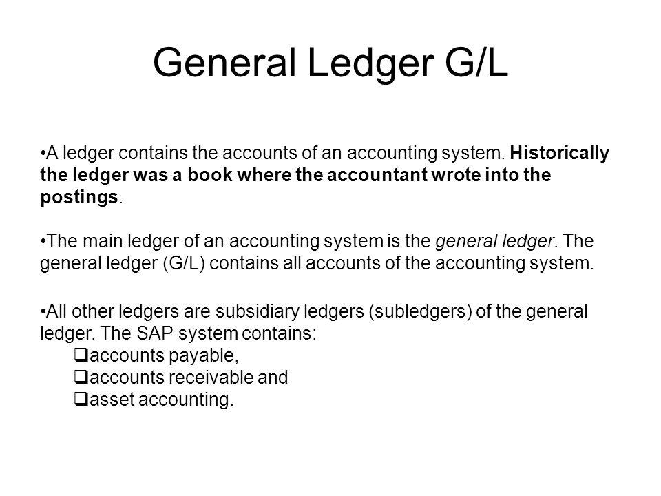 Accounts Receivable / Accounts Payable Customers Vendors General ledger Accounts ReceivableAccounts Payable