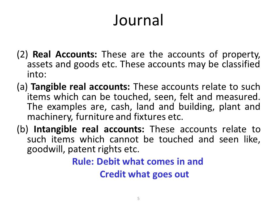 Journal (3) Nominal Accounts: These are the accounts of expenses, losses, incomes and gains etc.