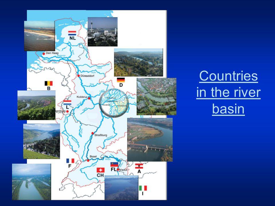 1838 1872 1980 Development of the Rhine hydromorphology