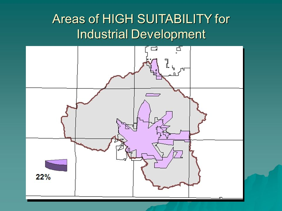 Areas with HIGH SUITABLITY for BOTH AGRICULTURE AND CONSERVATION