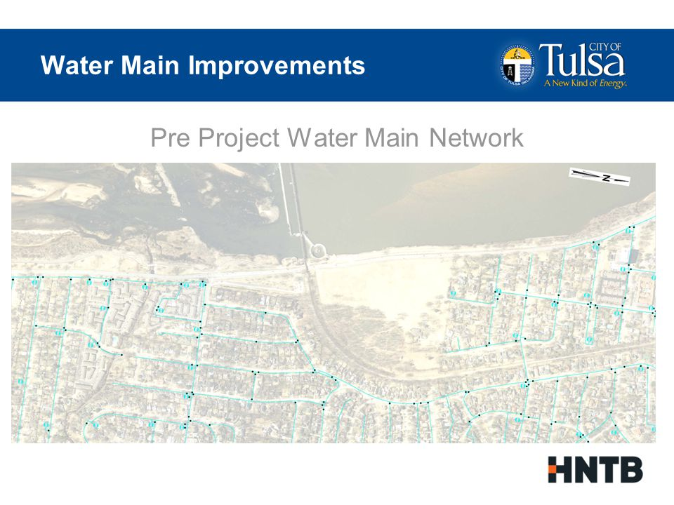 Water Main Improvements Post Project Water Main Network