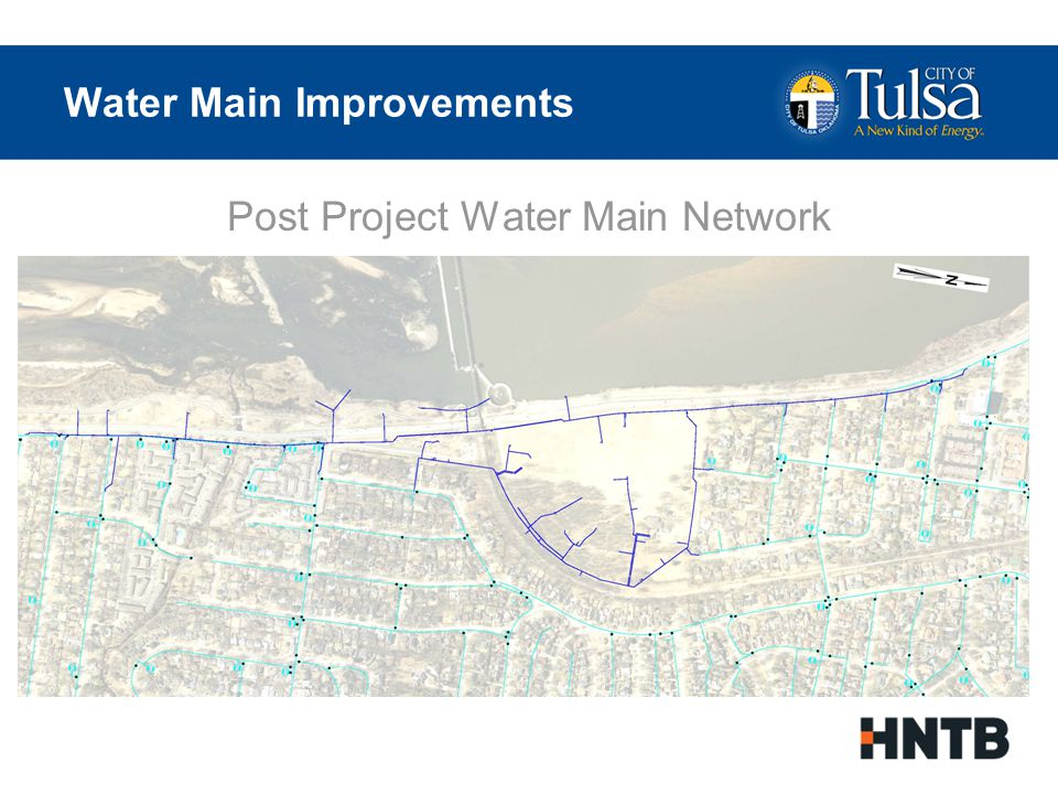 Sanitary Sewer Improvements Existing Systems are 60-100 years old Reconstruction of Major Sanitary Mains High Strength Fiberglass for New Systems No Impact to Users