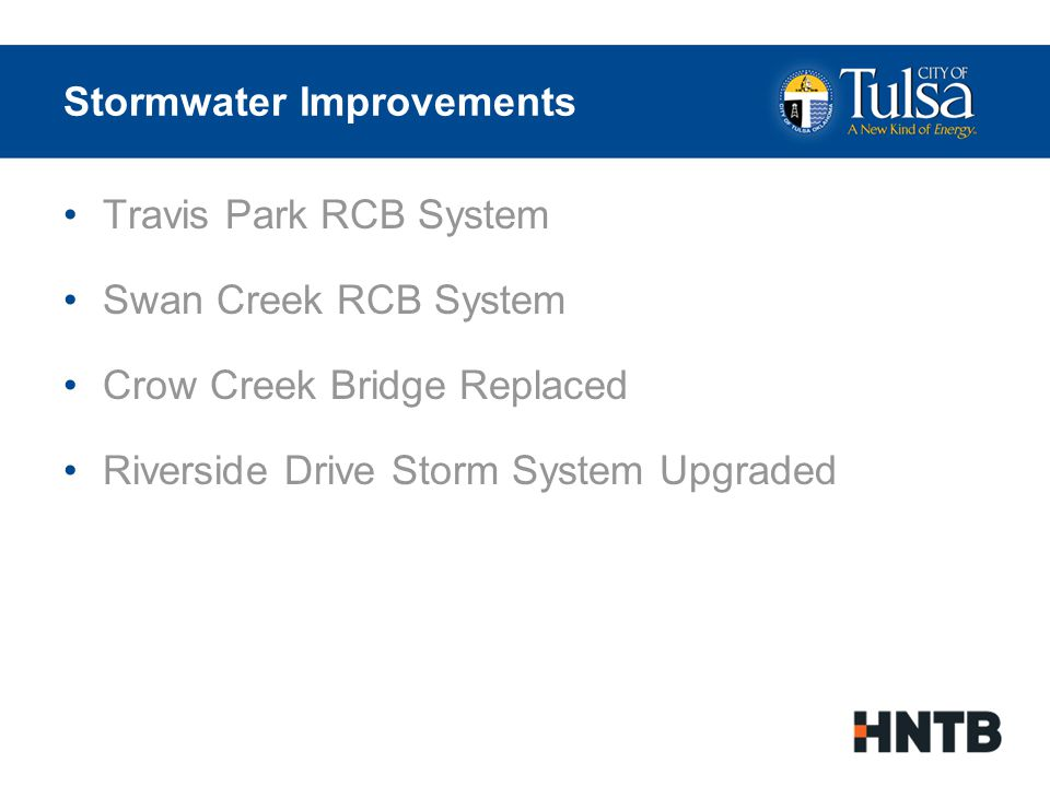 Stormwater Improvements Pre-Project Storm Conveyance System