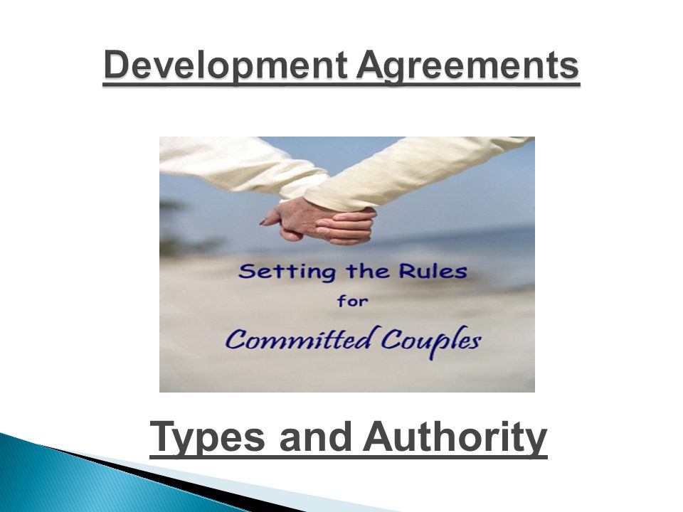  Development Agreements in the ETJ  Developer Participation Agreements  Industrial District Agreements