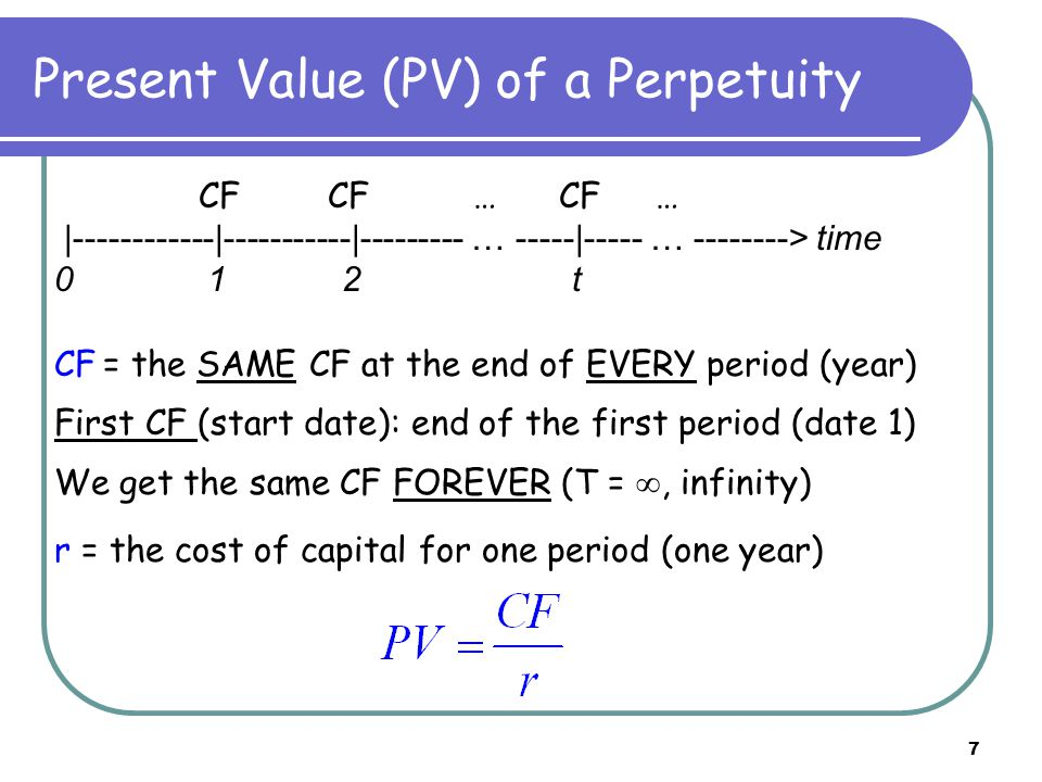 8 Perpetuity examples 1.