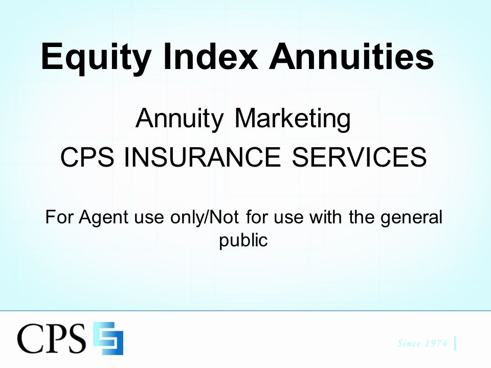 Agenda 5/24/06 Webinar Duration 35-45 Mins What is an EIA Typical Client Types of EIA's Minimum Guarantees Growth Adjusting Factors Examples: –Annual Reset Point to Point –Annual Reset w/ Monthly Average –Annual Reset w/ Performance Trigger –Annual Reset w/ Monthly Pt to Pt Regulatory Environment Client Handouts Questions