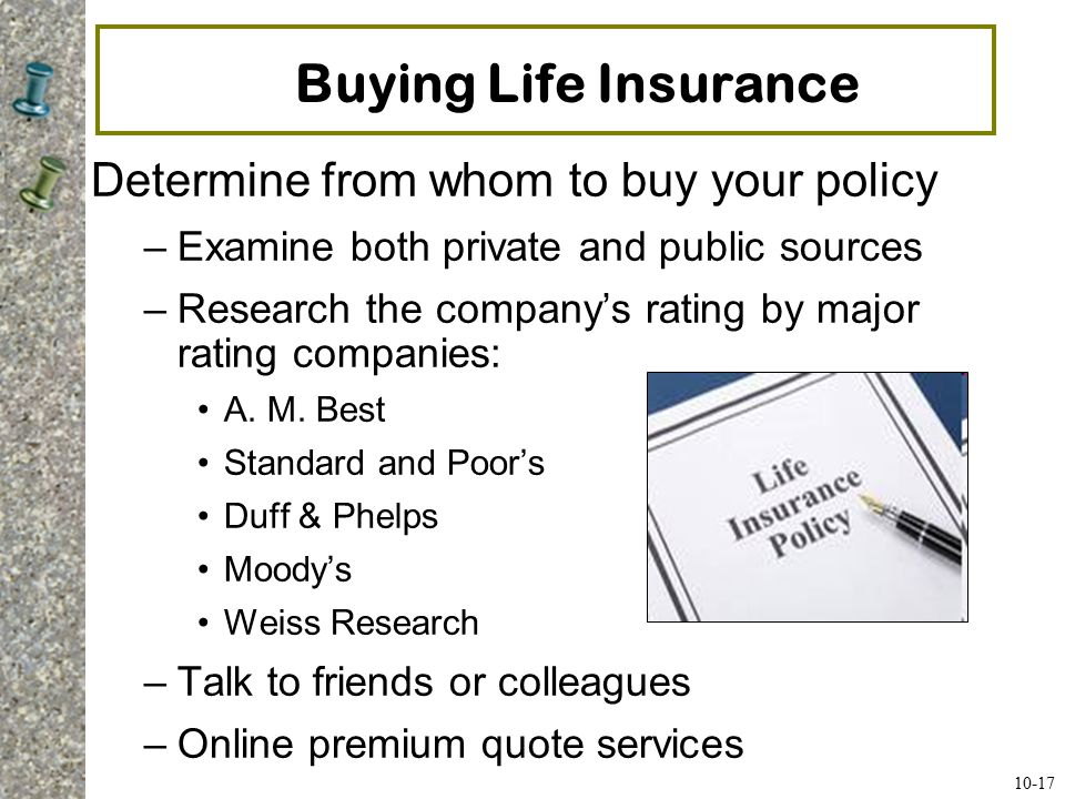 Choosing an Insurance Agent Ask friends, parents, and neighbors for recommendations.