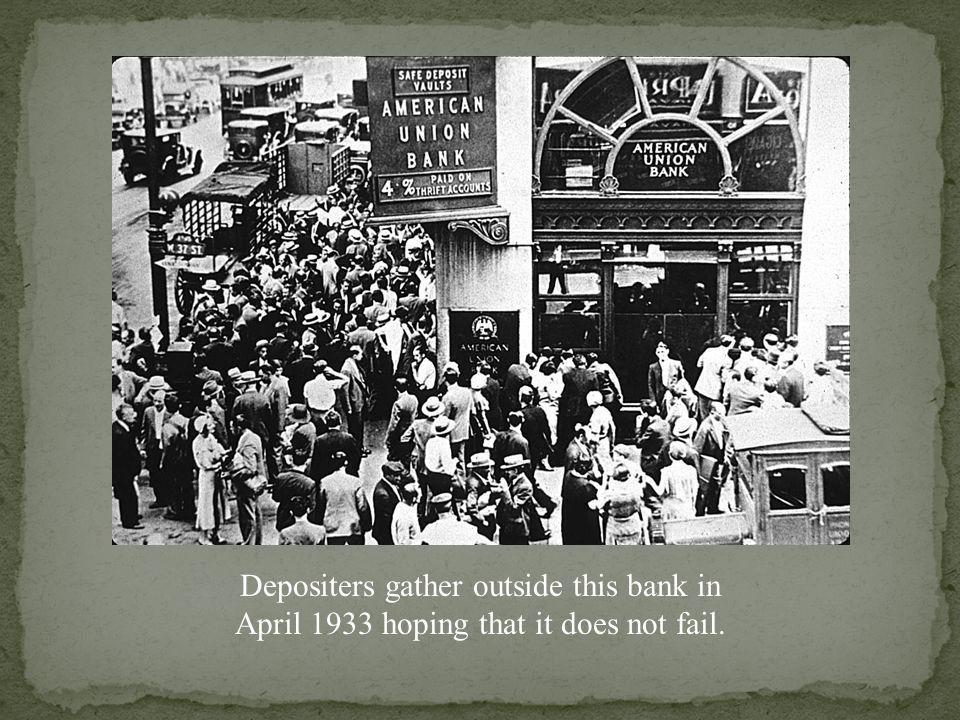 Bank Failures, 1929-1933